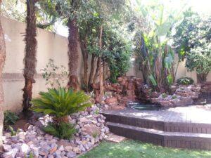 low maintenance garden Bryanston