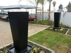 Office garden formal water pots