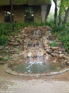 Barlo world waterfall